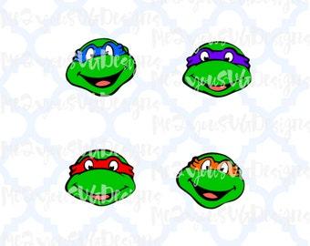 Ninja Turtles SVG,EPS,PNG,Studio