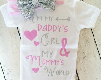 Daddy's Girl, Mommy's World Bodysuit