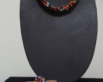 Nine-Gem Handmade set
