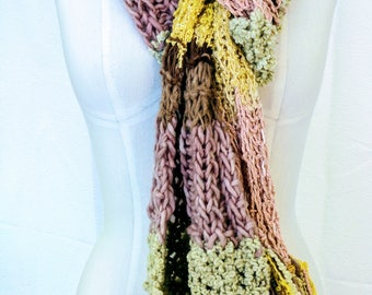 Fall Rainbow Scarf