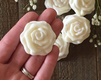 Rose Wax Melts - 100% Natural Soy Wax & Young Living Essential Oils