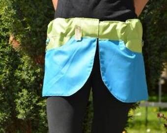 Agility mini skirts-Kilt blue green