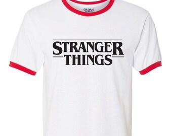Stranger Things Ringer Tee Stranger Things tshirt