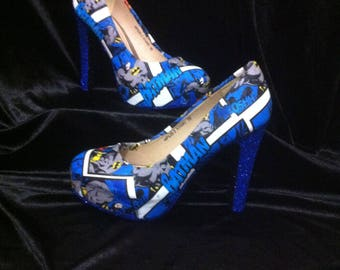 BAtman shoes / heels* * * uk sizes 3-8 * * *