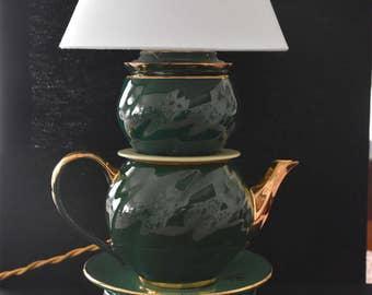 teapot lamp (recycle)