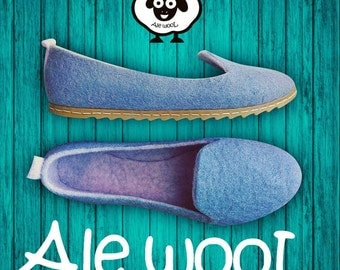 Wool slippers, felt slippers