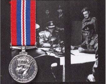 REPRODUCTION Campaign Medal 1939-45 Star Miniature British War Medal 18mm [CMWM]