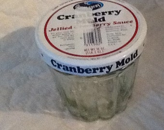 Vintage 1960's Ocean Spray Cranberry Glass Mold