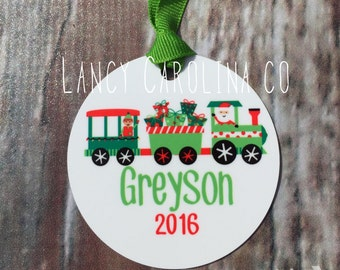 Personalized Christmas ornament - Christmas Ornament, Christmas Gift, Ornament, Personalized Ornament, Aluminum Ornament, Boy Ornament