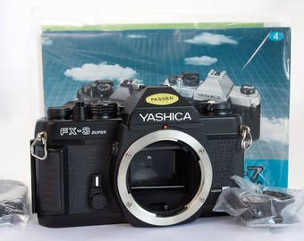 Yashica FX-3 Super Camera - New and Boxed