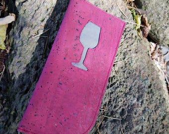 Wine sunglasses case