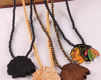 Aboriginal/ Native American Wooden Necklace