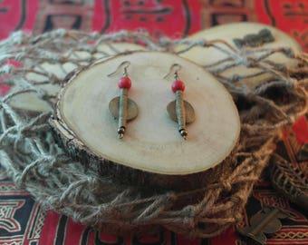 African earrings Sanaa Asili