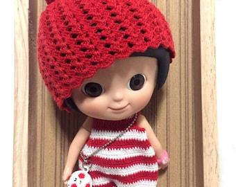 Mini Mui chan Crochet Jumsuit and hat - Football