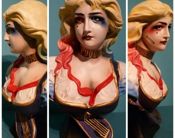 Handpainted statue Harley Quinn suicide squad