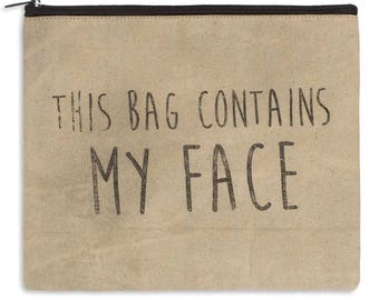 Cosmetic Bag | Toiletry Bag | Bathroom Accessories | Makeup Bag | Canvas Bag | Large Makeup Bag