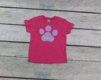 paw patrol birthday/girls paw patrol birthday shirt/one/two/three/four