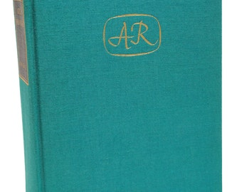 Vintage Atlas Shrugged Ayn Rand 1957 First Edition Fifth Printing Classic Book