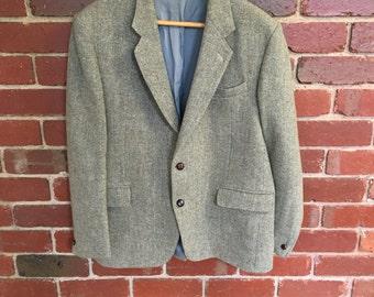 Mens vintage Harris Tweed jacket
