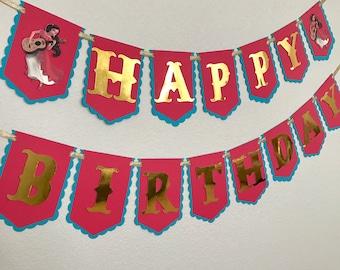 Princess Elena of Avalor Happy Birthday Banner Party Decoration
