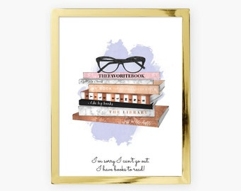 book lover gift, prints, room decor for teen girls, teen wall art, book lover, teen bedroom decor, teenage bedroom, teenage girls room decor