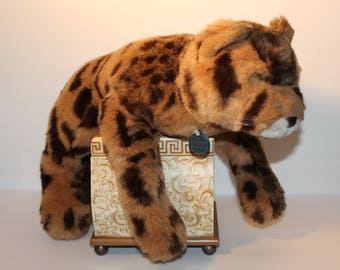 Vintage Cheetah Plush , Gund Cheetah, Collectors Classic Cheetah, Cheetah Stuffed Animal