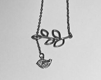 Silver Bird Necklace