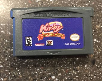 Kirby & The Amazing Mirror Gameboy Advance GBA Game Nintendo