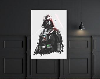 Darth Vader starwars digital print