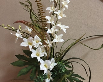 Artificial Orchids, Silk Orchid Arrangements, Tropical Florals, Orchids