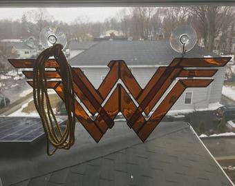 Wonder Woman Suncatcher w/ Lasso