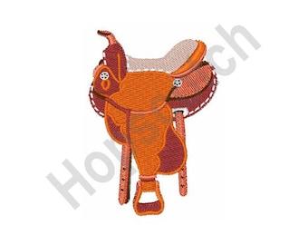 Horse Saddle - Machine Embroidery Design
