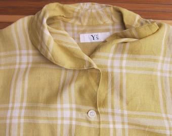 Y's YOHJI YAMAMOTO designer shirt made in japan buton down Comme des Garcons issey miyake