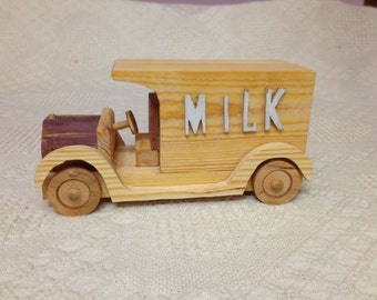 Model T -- Milk Truck Delevery Van as Used in Grandpa's Day