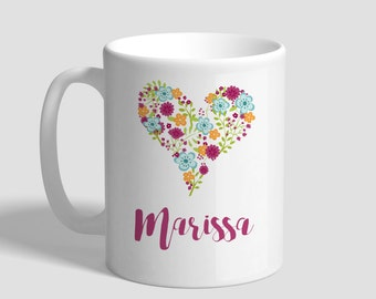 Heart Personalized Mug