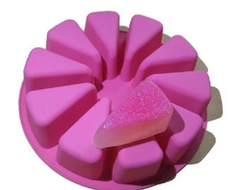 Cake Slices Soap Mould
