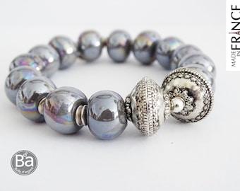 Olympus grey bracelet