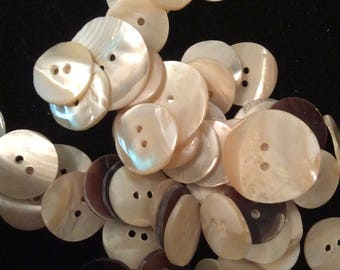hand carved mother of pearl buttons shell buttons