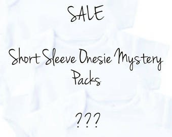 GIRLS Short Sleeve Onesie Mystery Packs