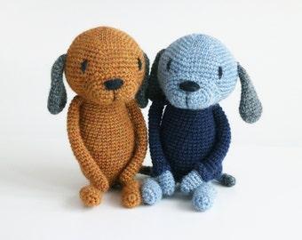 LuiDog ** Amigurumi crochet pattern * LuiLuh.handmade* PDF