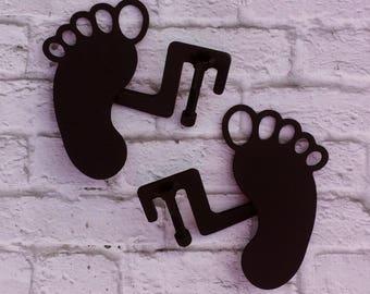 Footprint design jeep wrangler foot pegs