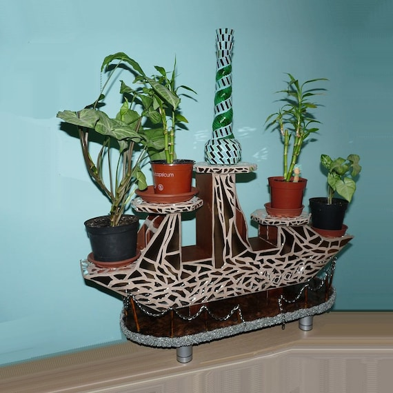 Plant Pot Holders Diy: Plant Stand Modern Plant Stand Indoor Plant Stand Candle