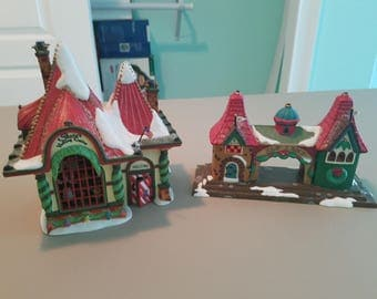 Department 56 Visiting Santa and Elfland Welcome