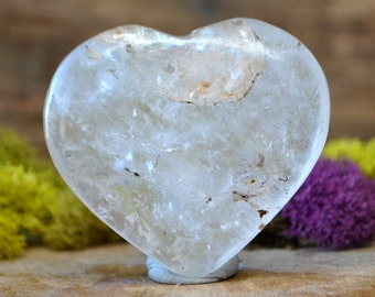 Crystal Quartz Crystal Heart  - 939.38