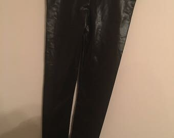 Vegan Leather Size S Leggings