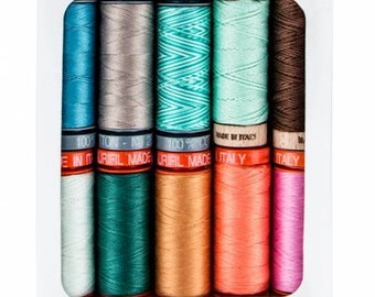 Sweetly Stitched thread collection set from Amy Sinibaldi for Aurifil, 10 small spools