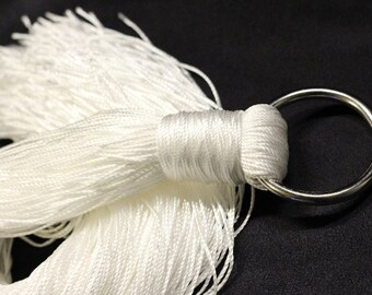 Mason's Line Flogger - WHITE - Great Warm Up and Cool Down Flogger - BDSM - Soft and Sensual