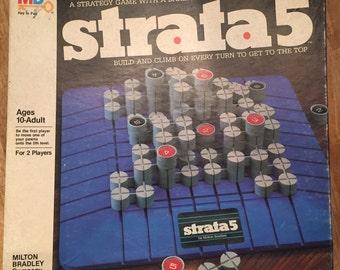 1984 Complete Strata5 Game by Milton Bradley No 4407