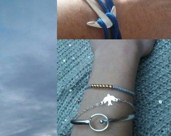 Bracelet three in a dove Argt 925.