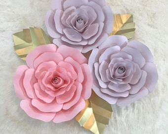 Large Paper Flower Backdrop/Nursery Decor ****Customize Your Order*****